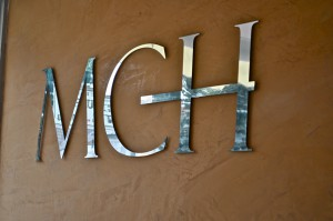 Mirror Finish Interior signs
