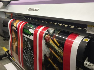 large format vinyl printi north london