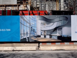 construction hoardings london
