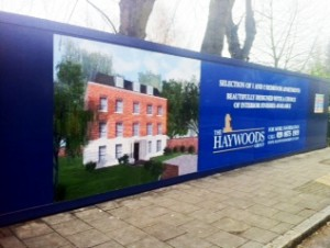 hoardings graphics west london